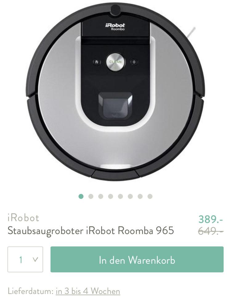 Westwing Staubsaugroboter iRobot Roomba 965