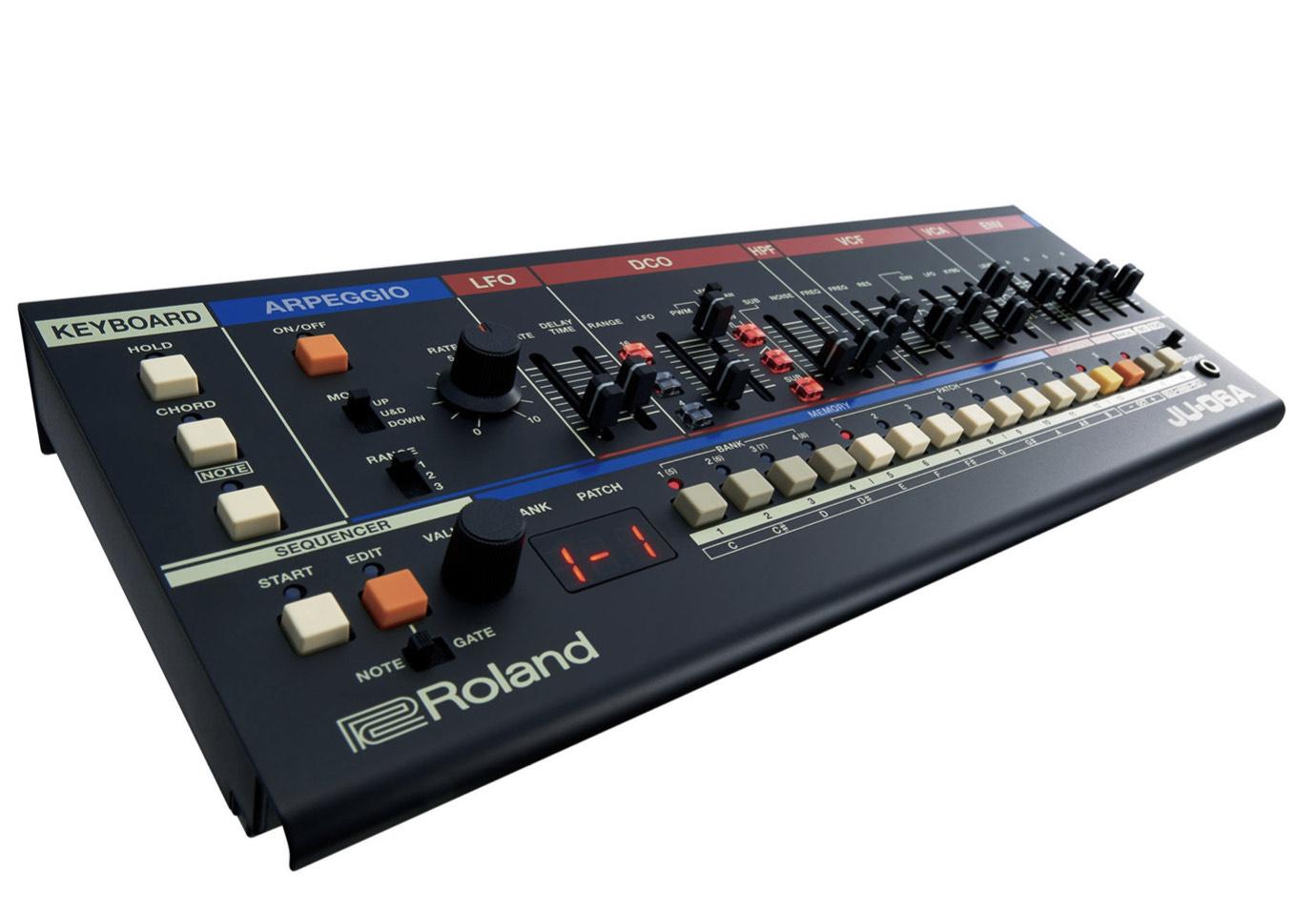 Roland JU 06 a Boutique Synthesizer/ Kleiner Nachbau vom Roland Juno 60/106 zum Bestpreis