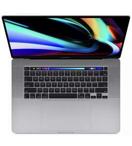 eBay Gravis: Apple MacBook Pro 16 Zoll (2019) spacegrau (i7 9th Gen., 512GB SSD, 16GB RAM)