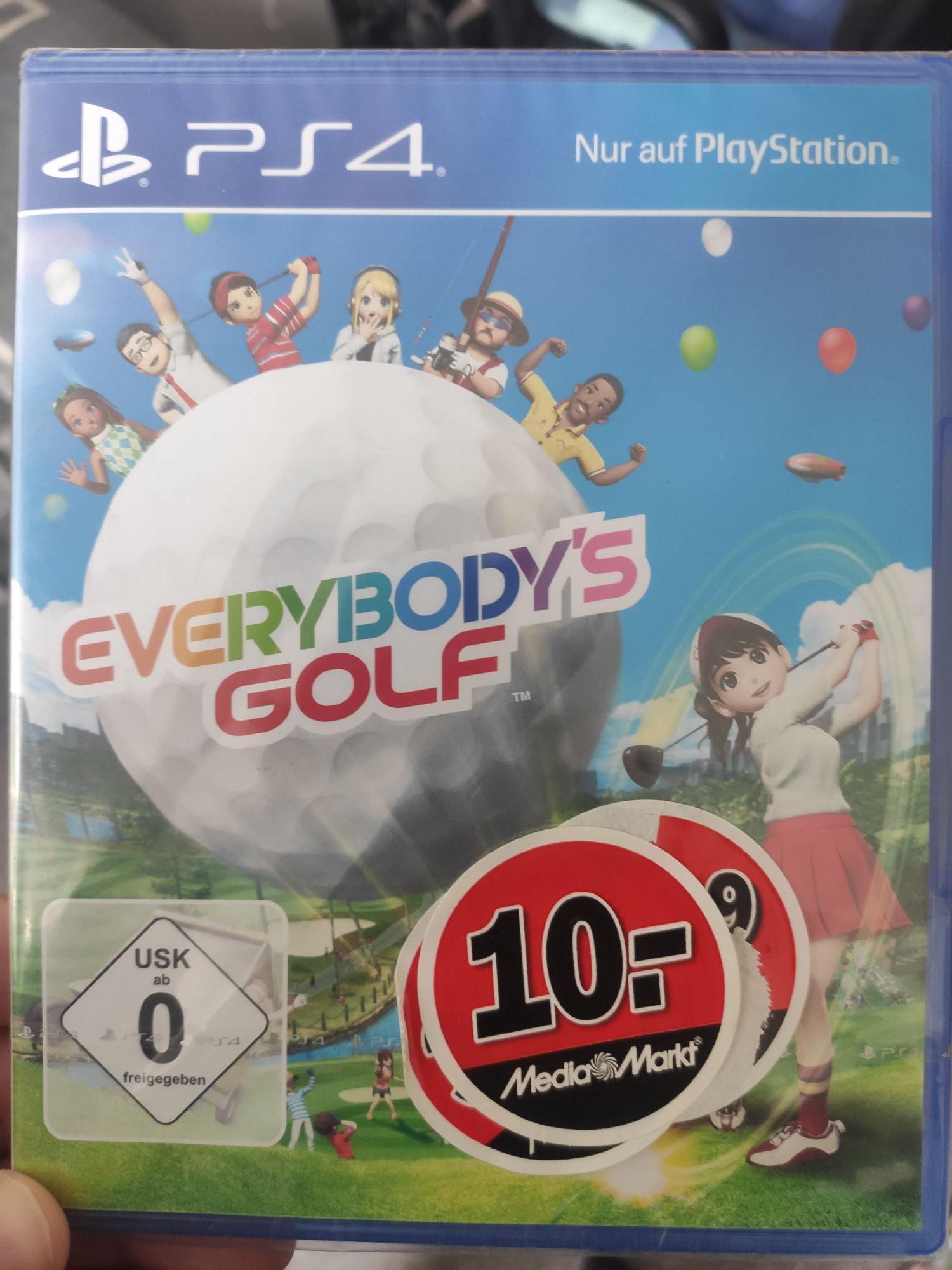 [Lokal] Mediamarkt Magdeburg Bördepark - Everybody's Golf PS4