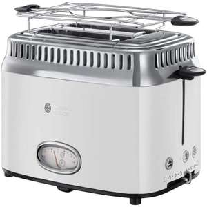 Russell Hobbs Toaster Retro weiss