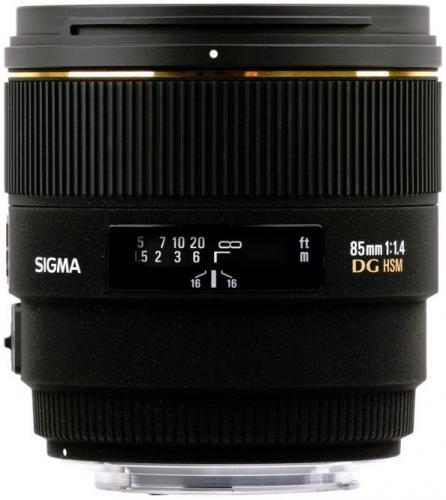 SIGMA 85mm 1,4 EX DG HSM für PENTAX