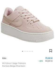 Air Force 1 Sage Trainers Particle Beige Phantom