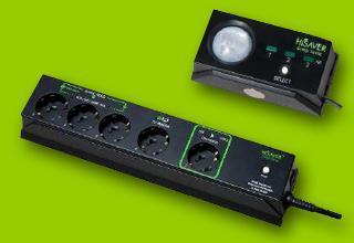 HiSaver TV Mehrfachsteckerleiste mit automatischer Stromsparfunktion