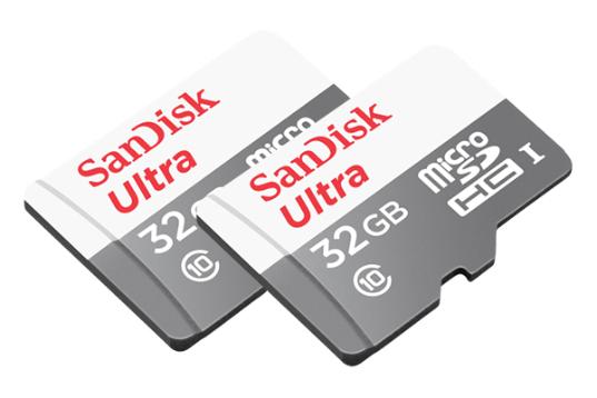 2x SanDisk Ultra Speicherkarte 32GB für 10€ (Saturn Abholung)