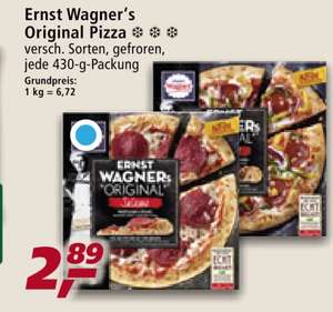 Wagner Ernst Pizza - Coupon -1 Euro