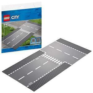 Lego City Straßenplatte 60236 - Gerade und T-Kreuzung für 6,60€ (Thalia Club)