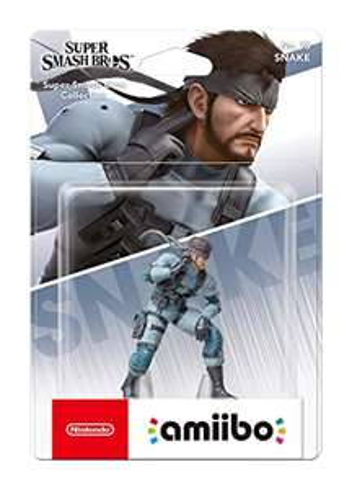 Nintendo amiibo (Super Smash Bros. Collection) Snake für 7,29€ (Amazon Prime)