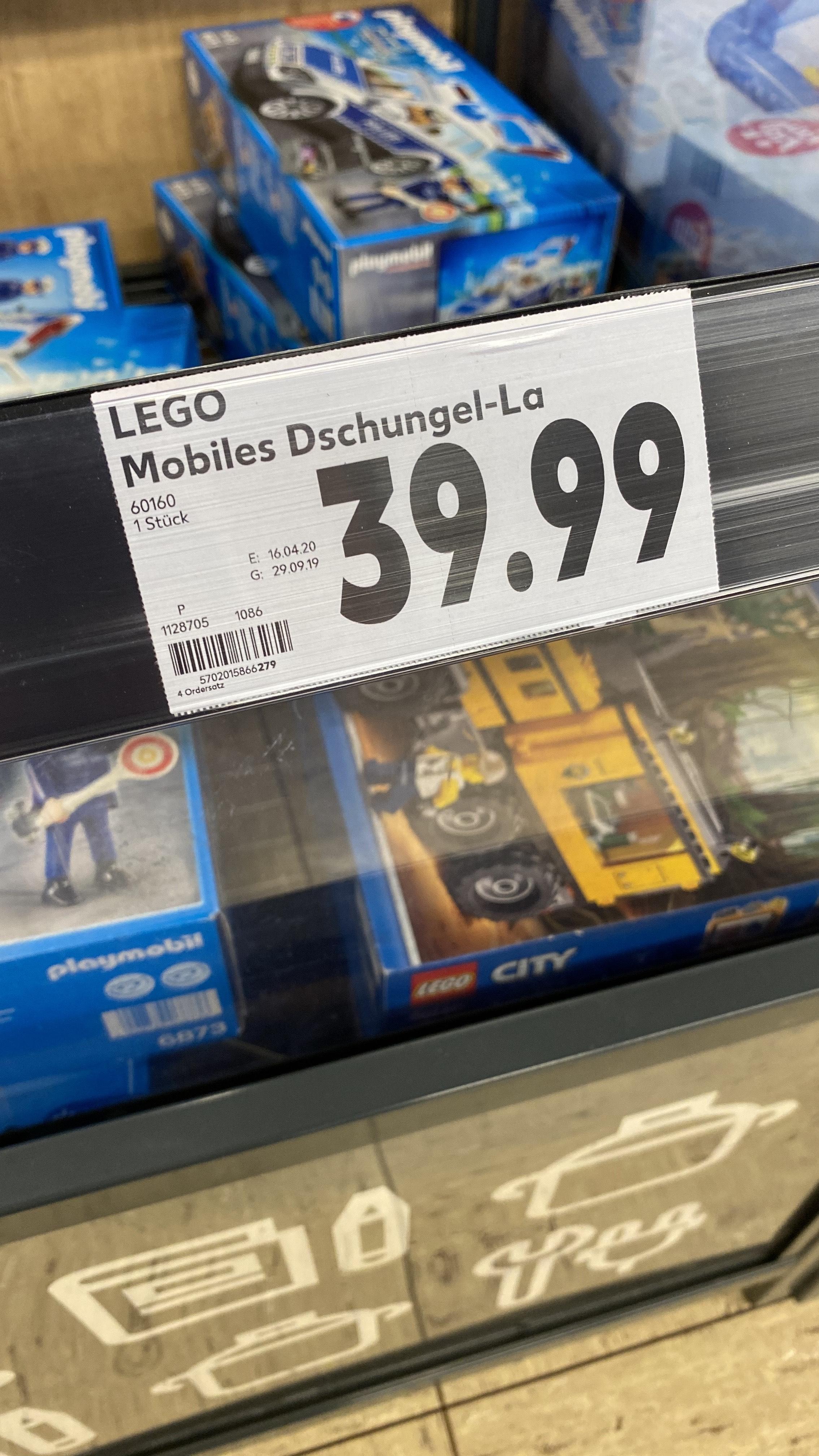 Lokal   Lego City - Mobiles Dschungel-Labor (60160)
