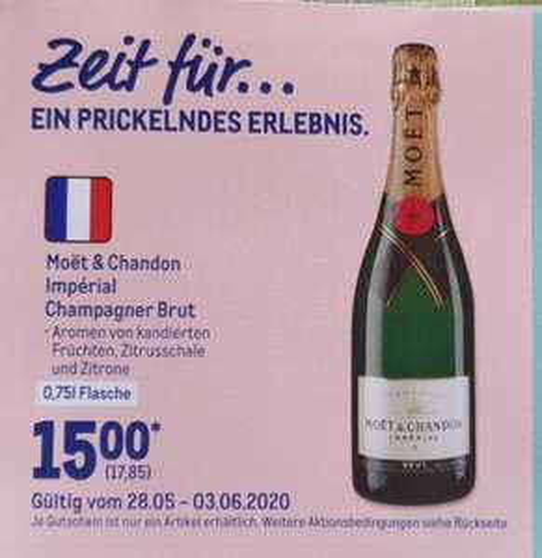 [Metro] Moet & Chandon Imperial Champagner Brut 0.7 Liter