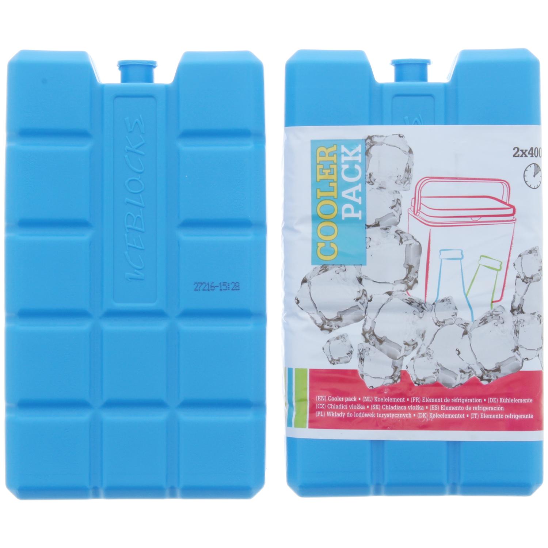 Kühlakkus 2 Stück | 400 ml