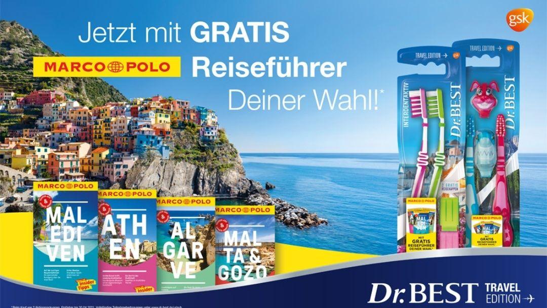 Gratis Marco Polo Reiseführer bei Kauf von zwei Dr. Best Aktionsartikeln