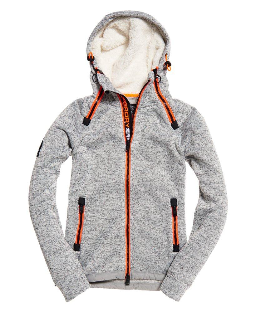 Superdry Double Storm Kapuzenjacke / Hoodiejacke mit Sherpa Kapuze für 19,95€ [nur XL und XXL / Ebay @ SuperdryStore]