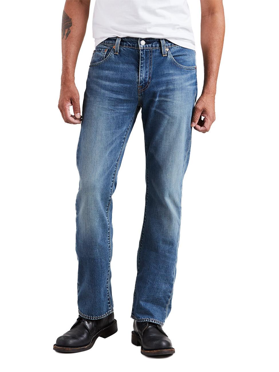 Mehr Shoppen mehr sparen mit 5€ bis 30€ extra Rabatt, einzulösen auf Alles - z.B. Levis® Herren Jeans 527® - Slim Bootcut - Blau - Pulley T2
