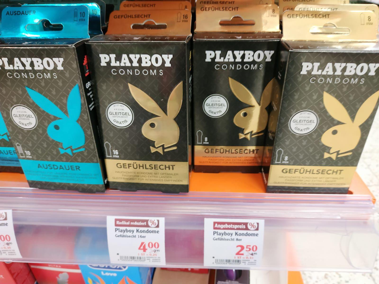 Lokal Globus Köln - Playboy Kondome 8 Stück für 2.50€ und 16 Stück für 4€