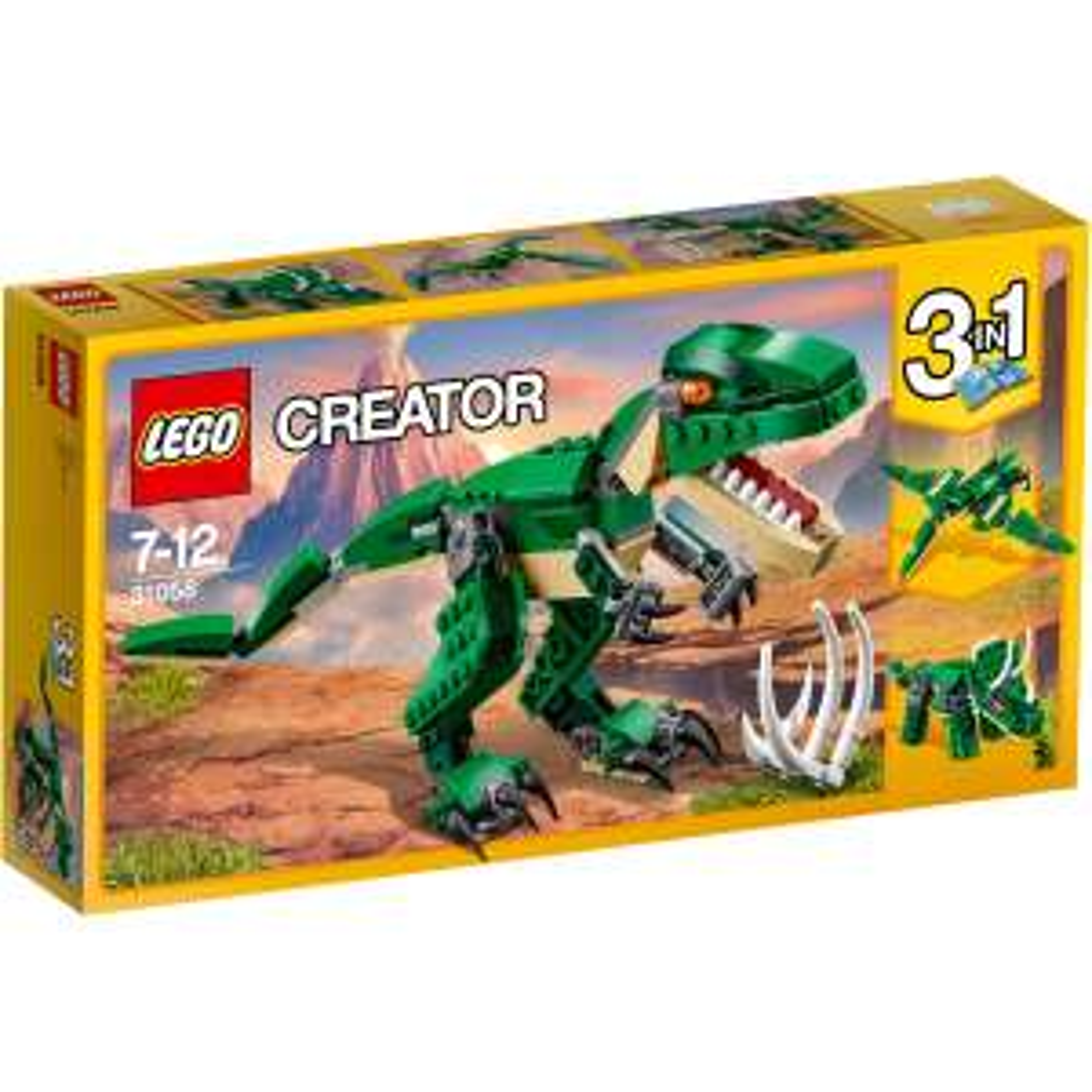 ( Galeria Filiallieferung ) LEGO Creator 31058 - Dinosaurier, 3-in-1 (bzw. 7-in-1 und mehr)