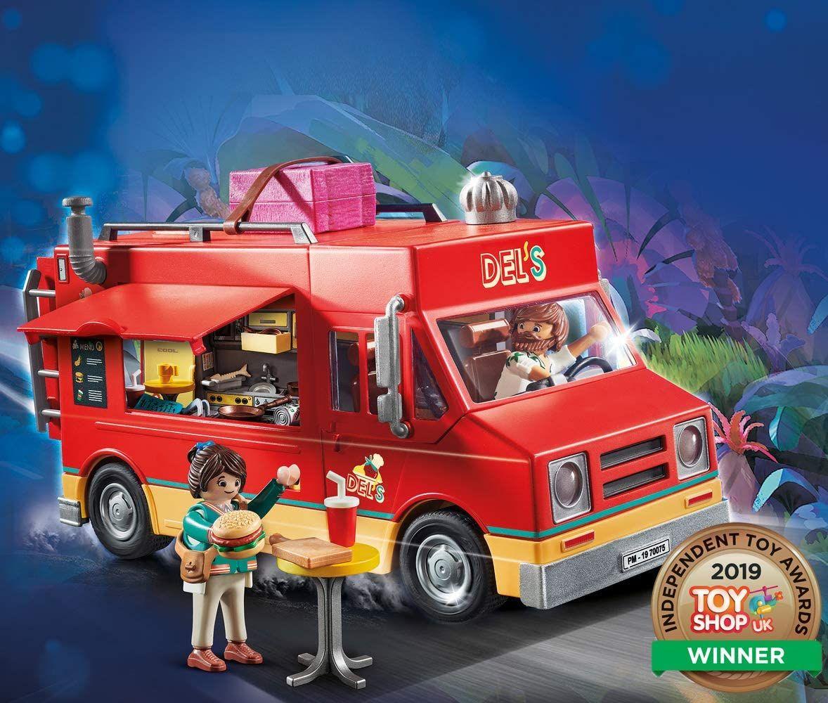 PLAYMOBIL THE MOVIE 70075 Del's Food Truck, online Mifus 24,94€, offline Rofu 19,99€ ab 25.05.20