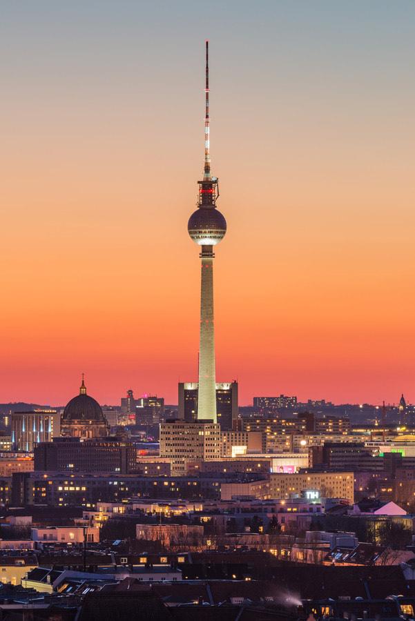 50% Rabatt für den Besuch des Berliner Fernsehturm vom 22.05. - 07.06.2020
