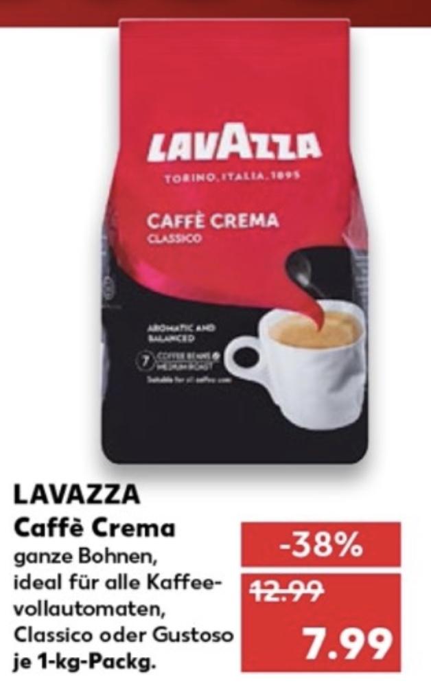 Lavazza Ab Donnerstag, 28.05.2020 bei Kaufland für 7,99€ (regional, sonst 8,99€)