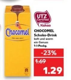 [Kaufland Do-Mi] Chocomel 1l für 1,29€