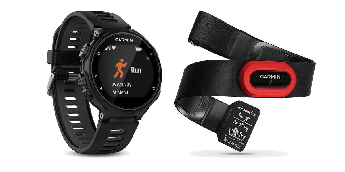 Garmin Forerunner 735XT Run Bundle Laufuhr Smartwatch Triathlon-Uhr [MM Online]