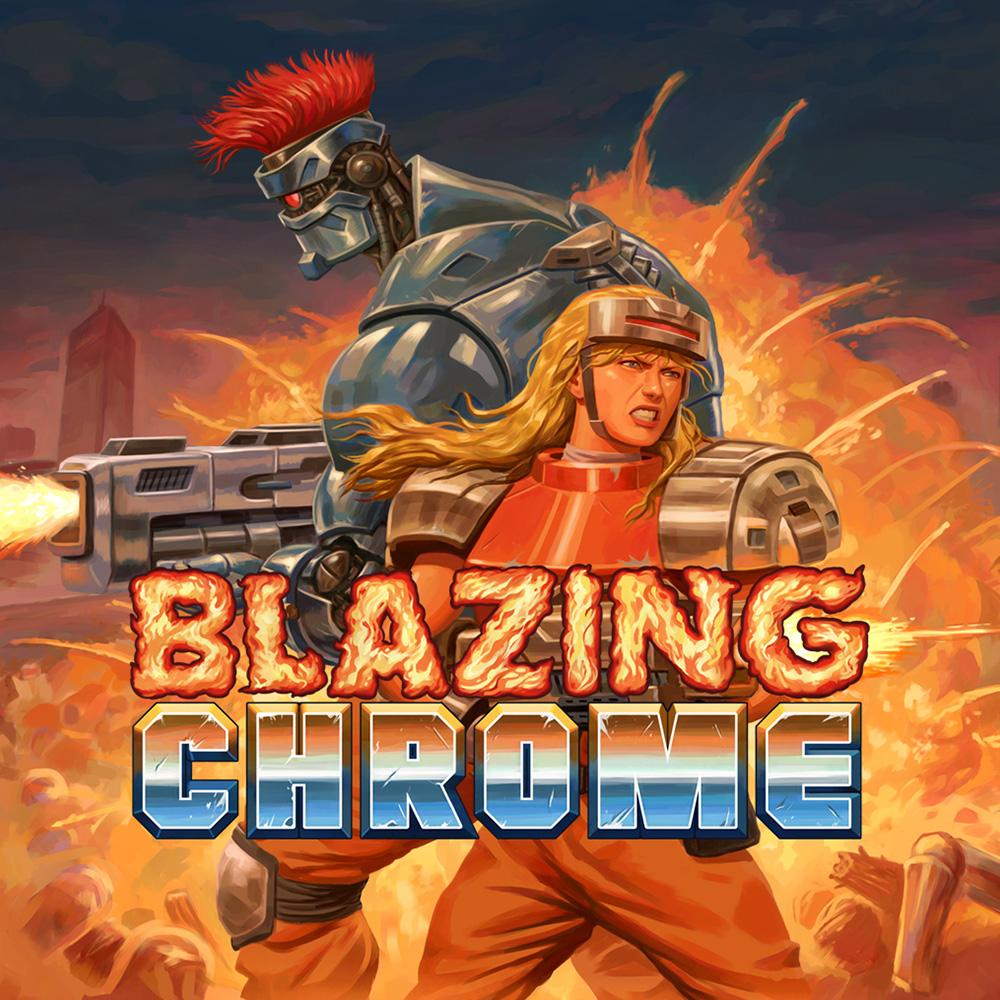 Blazing Chrome (Switch) für 8,49€ oder für 5,80€ ZAF (eShop)
