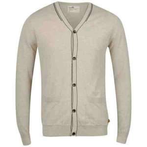 BOXFRESH MEN'S GADE 14 GAUGE SUMMER CARDIGAN - OATMEAL MARL @ THE HUT nur noch in XL