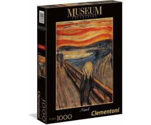 Clementoni - Puzzle Museum Kollektion - Der Schrei Edvard Munch 1000 Teile