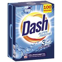 [Multi-Markt] Dash Vollwaschmittel Alpenfrische 100 WL mit Sofortrabatt Couponplatz.de
