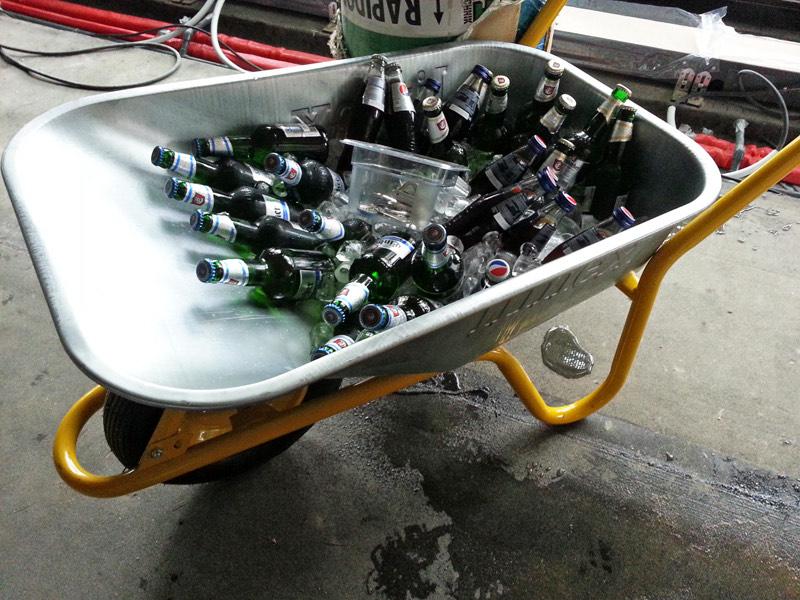 Limex Bauschubkarre 85 Liter bei Toom