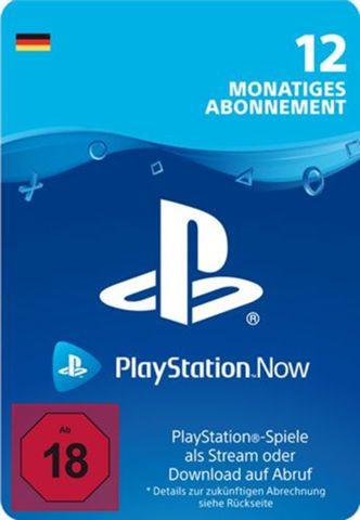 PlayStation Now - Abonnement 12 Monate für 41,99€