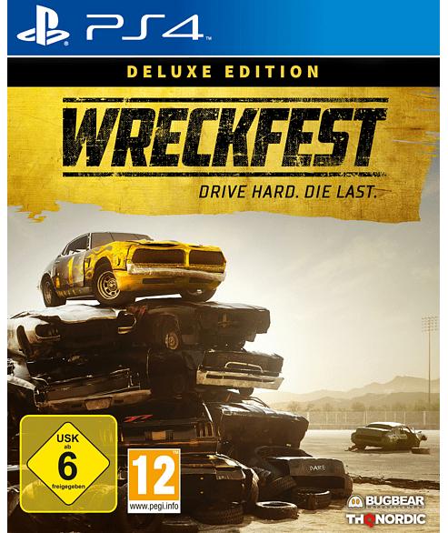 Wreckfest Deluxe Edition (PS4) (inkl. Season Pass) (Mediamarkt & Saturn Abholung)