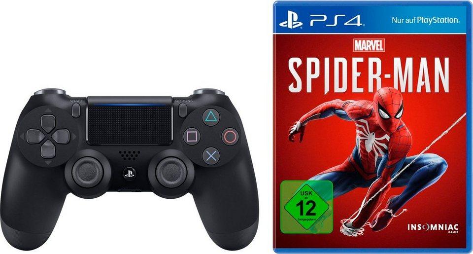 Sony PS-4 DualShock 4 Wireless-Controller + Marvel's Spider-Man für 59,99€