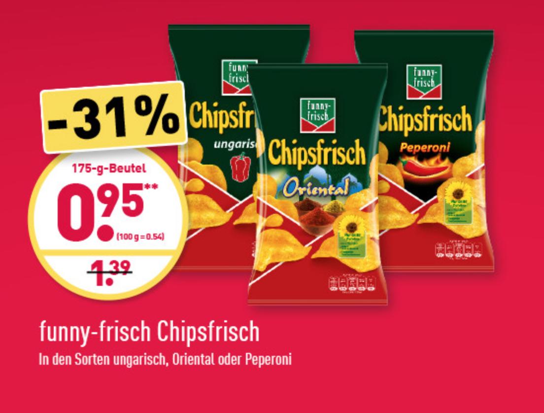 Funny Chips bei Aldi Nord im Angebot!