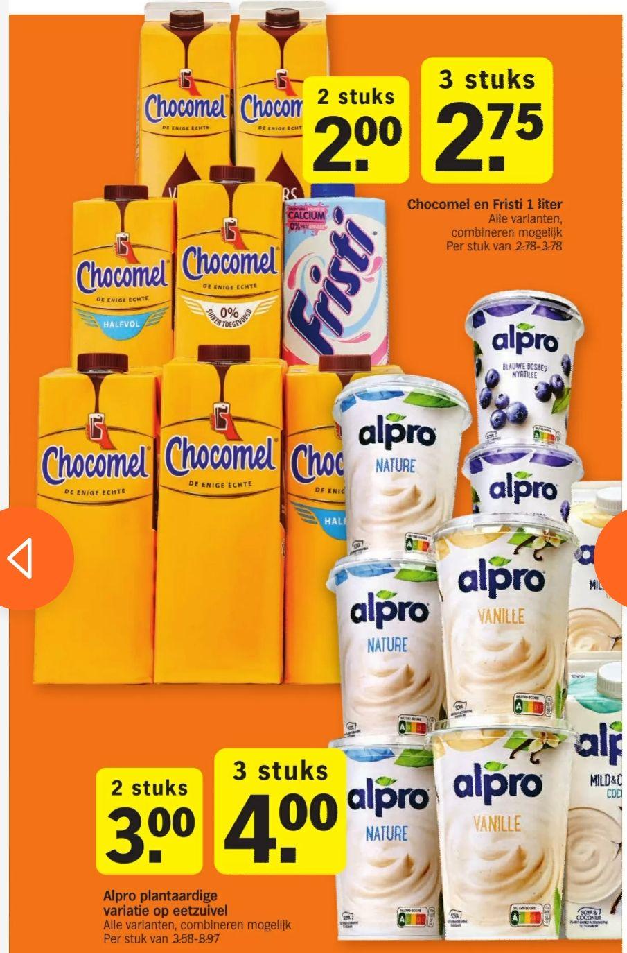 [Albert Heijn NL] Chocomel und alpro Joghurt