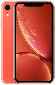 "Apple iPhone XR 256GB Koralle (6,1"" IPS 1792x828, 3/256GB, A12, NFC, 2942mAh, IP67, 347k AnTuTu) [V&V Amazon]"