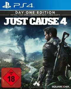Just Cause 4 (PS4) für 9,99€ (Saturn & Media Markt Abholung)