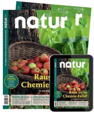 Natur Abo (12 Print + digital Ausgaben) für 104,20 € mit 90 € BestChoice-Gutschein/ 95 € Otto-Gutschein (Kein Werber nötig)