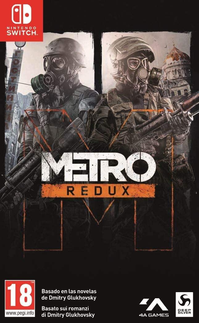 Metro: Redux (Switch) für 33,40€ (Amazon IT)