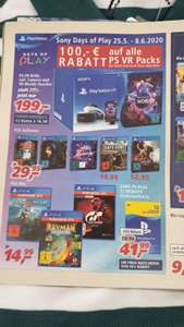 [Real] Sony Days of Play 25.05.20 - 08.06.20 [Real Family & Friends 29.05.20- 30.05.20 / extra 30% auf PlayStation 4 Spiele]
