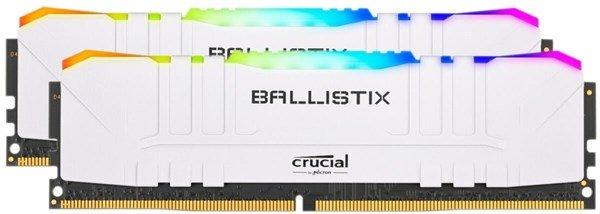 Crucial Ballistix White RGB 16GB DDR4 3000 CL15Kit 75,85 (mit Shoop 74,44) Ohne RGB 67,80