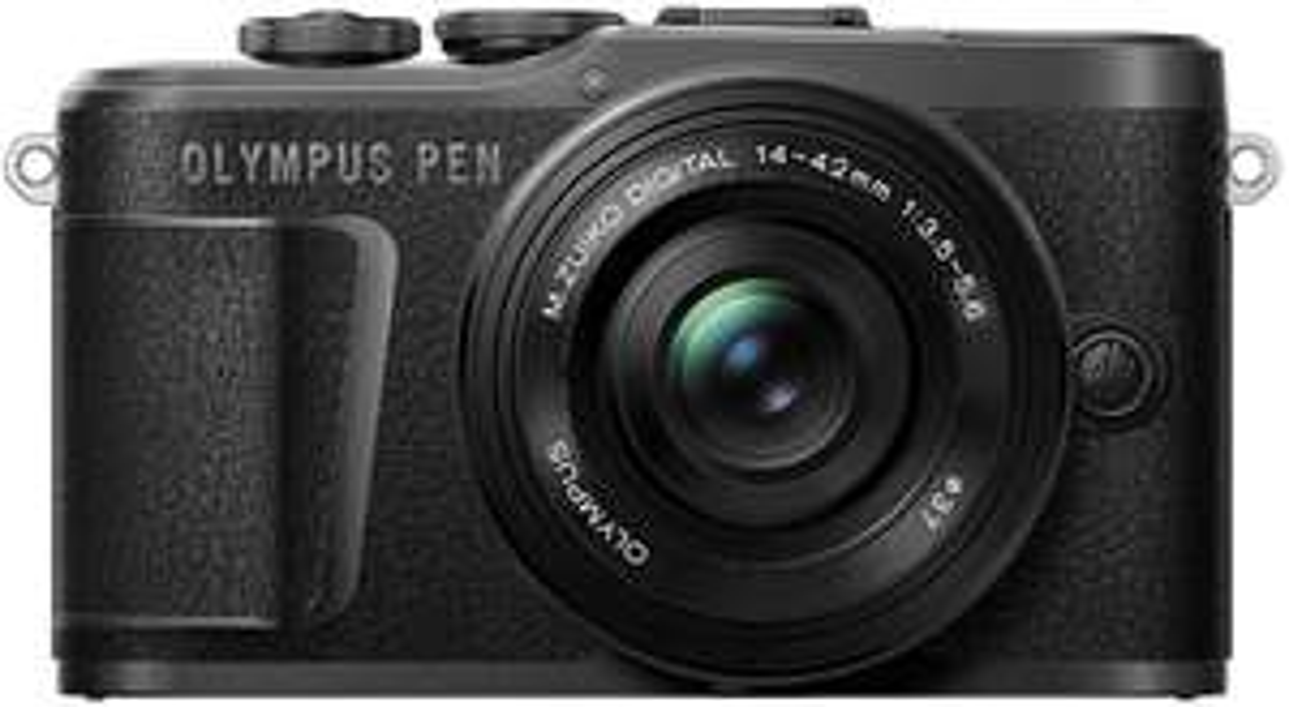 Olympus PEN E-PL10 Systemkamera + 14-42mm 3.5-5.6 EZ Objektiv