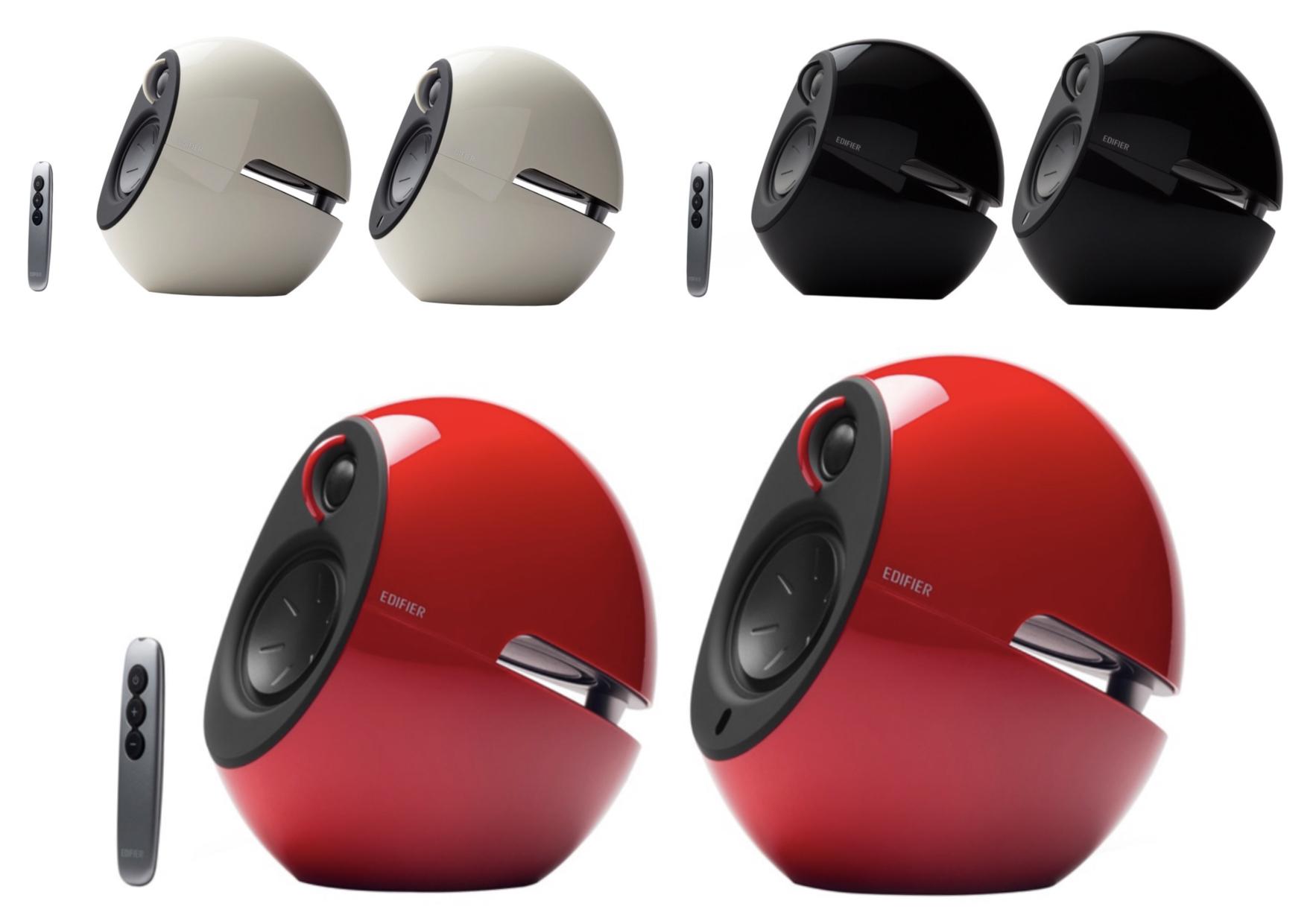 Edifier Luna Eclipse E25HD Design Aktivlautsprecher System mit Bluetooth-Konnektivität und Fernbedienung 3 Farben für 135,20€ inkl. Versand