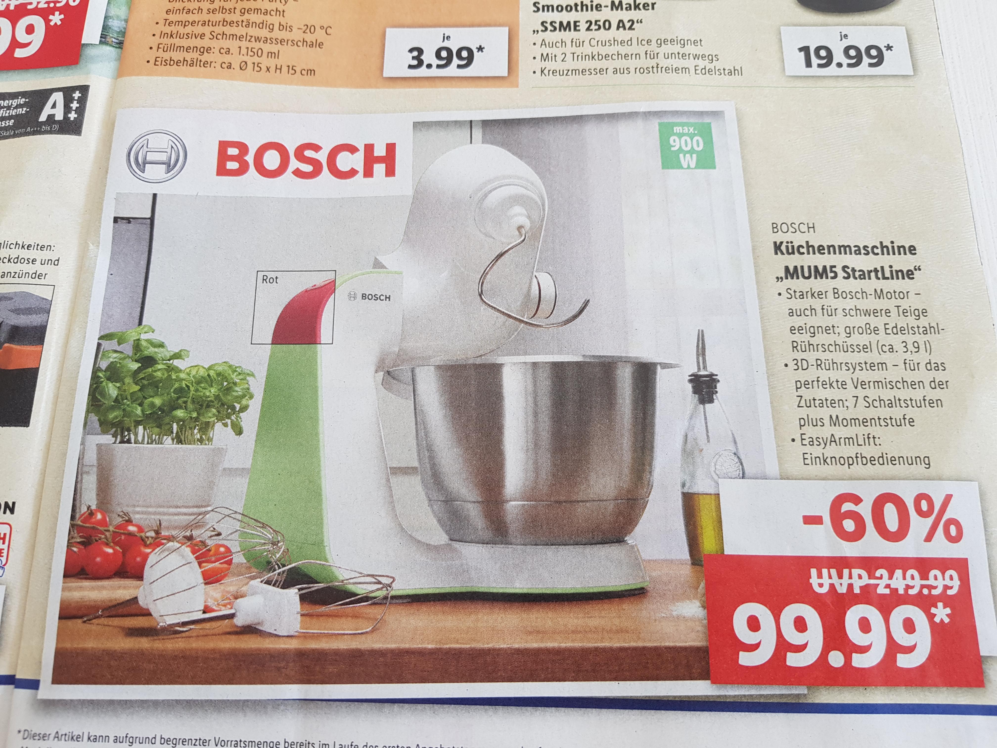 Bosch Küchenmaschine MUM5 StartLine