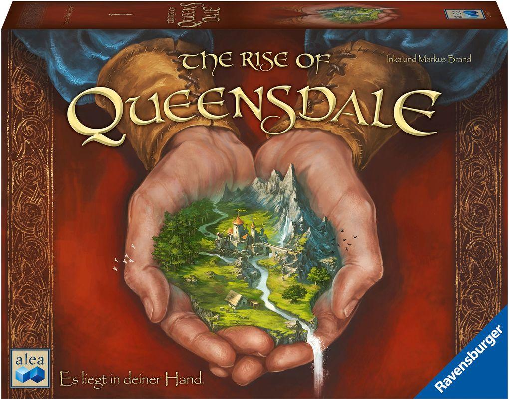The Rise of Queensdale (Brettspiel, ab 12 Jahren, 2-4 Spieler)