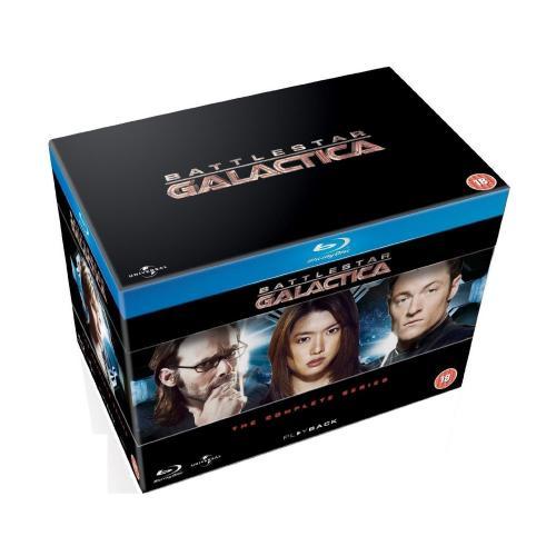 O-TON: Battlestar Galactica: The Complete Series (Blu-ray) 45,20 € @amazon.co.uk