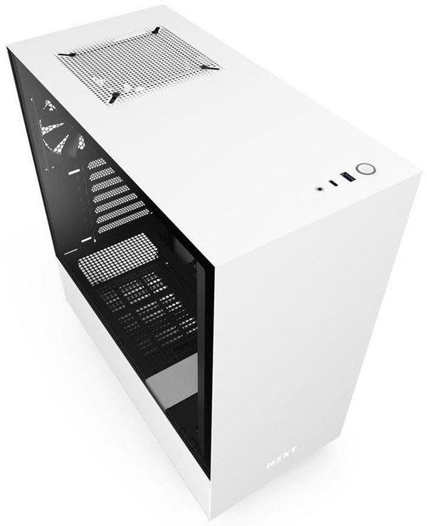 NZXT H510 PC Gehäuse weiss VGP 75,90/H210 72,81 VGP 87,81