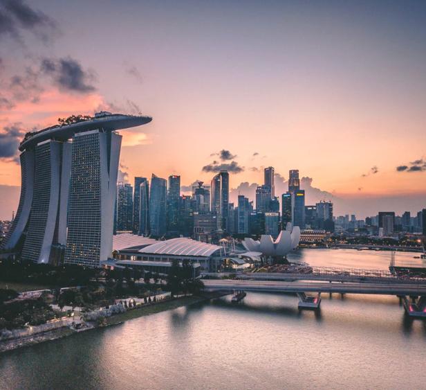 Flüge: Singapur (Juni-März) Hin- und Rückflug von Amsterdam nach Singapur ab 298€ inkl. Gepäck