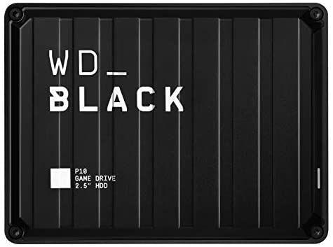 WD_Black P10 Game Drive externe Festplatte 4 TB (mobile und robuste High-Perfomance-Festplatte, für Konsole und PC [Amazon]