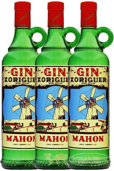 3x Gin Xoriguer Botella 0,7l 38%